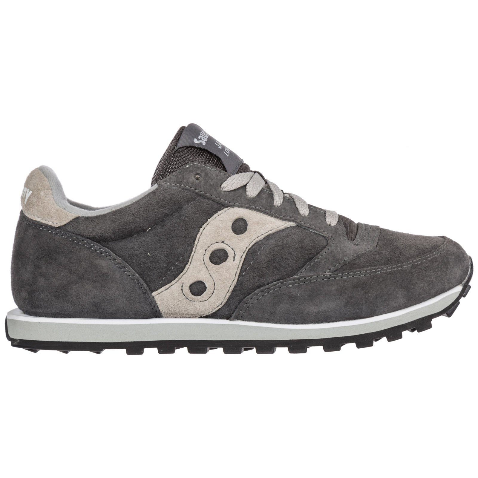 SAUCONY MEN'S SHOES SUEDE TRAINERS SNEAKERS NEW JAZZ O GREY