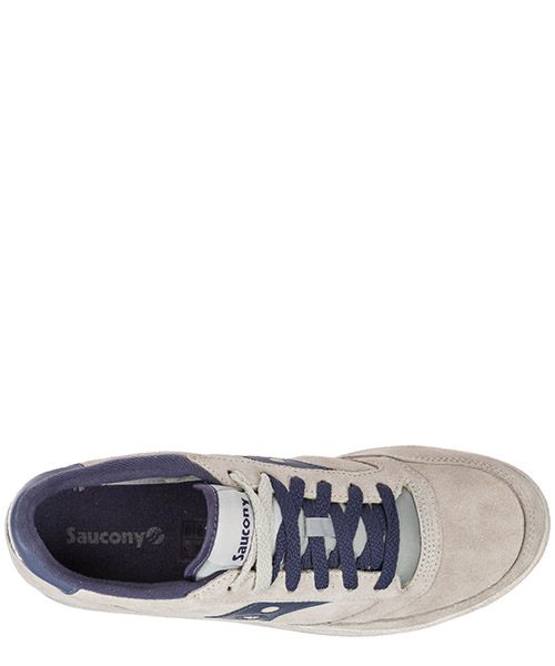 Chaussures baskets sneakers homme en daim jazz court secondary image