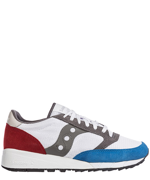 Basket Saucony jazz 91 7021601 white / blue / red