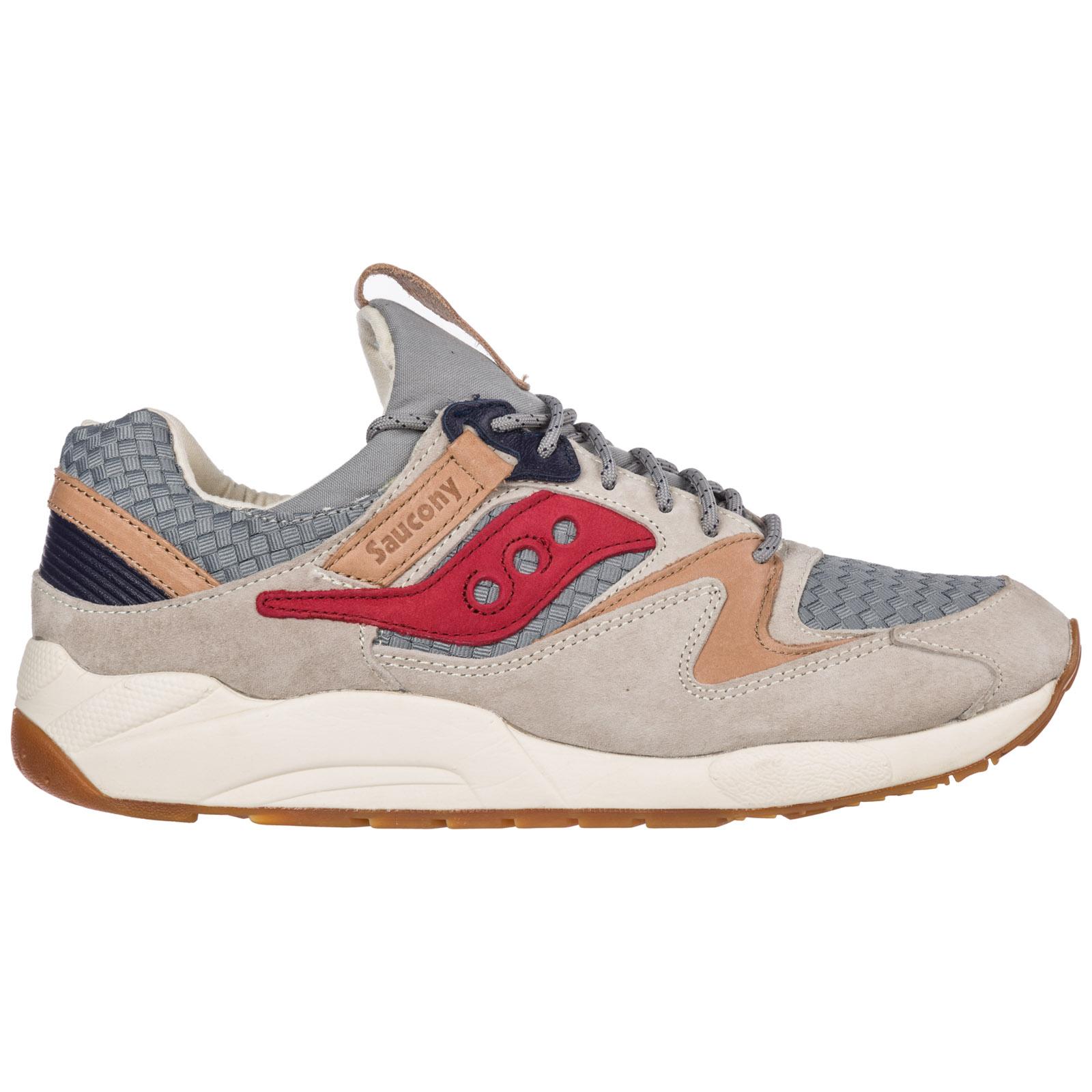 8270e07103a3 Chaussures baskets sneakers homme en daim grid 9000 ...