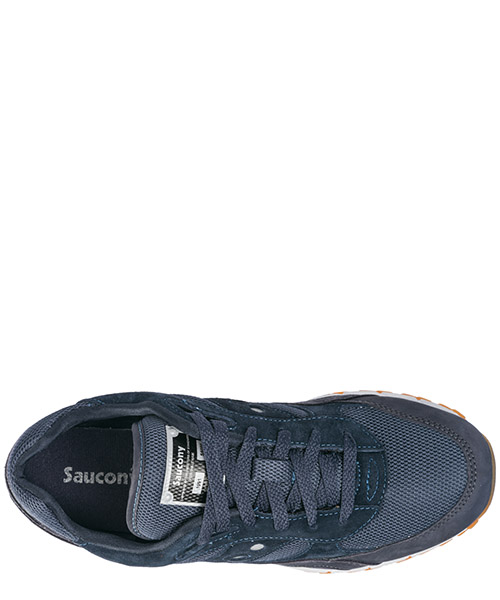 Men's shoes suede trainers sneakers shadow 6000 secondary image