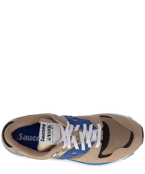 Men's shoes suede trainers sneakers azura secondary image