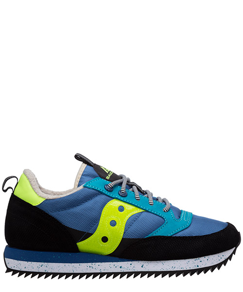 Sneaker Saucony jazz original 705123 blue/black/citron