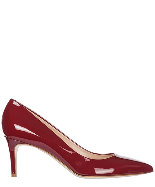 Women's leather pumps court shoes high heel glory