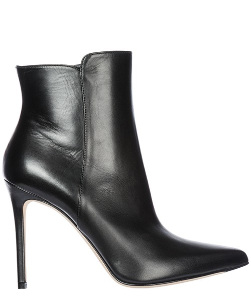 Heeled ankle boots Sergio Levantesi Margy MARGY29VITELLONE nero