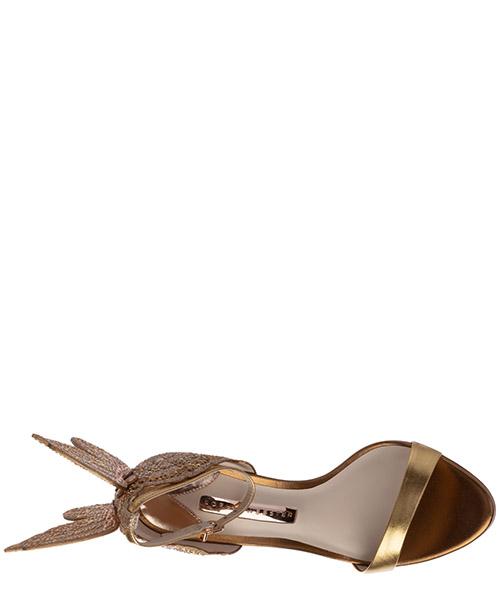 Sandalias de tacón mujer en piel chiara secondary image