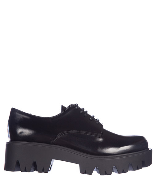 Hochhackige Oxfords Spektra Paris 7004023VITNERO nero