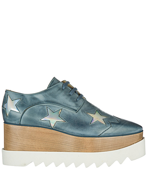 Scarpe stringate Stella Mccartney 363998W1AN14253 atlantic