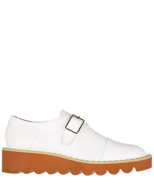 Zapatos de cordon Stella Mccartney 392330 W0XH0 9000 bianco