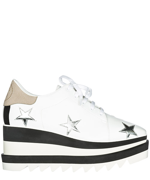 Zapatos de cordon Stella Mccartney 501778 W02QE 9081 bianco