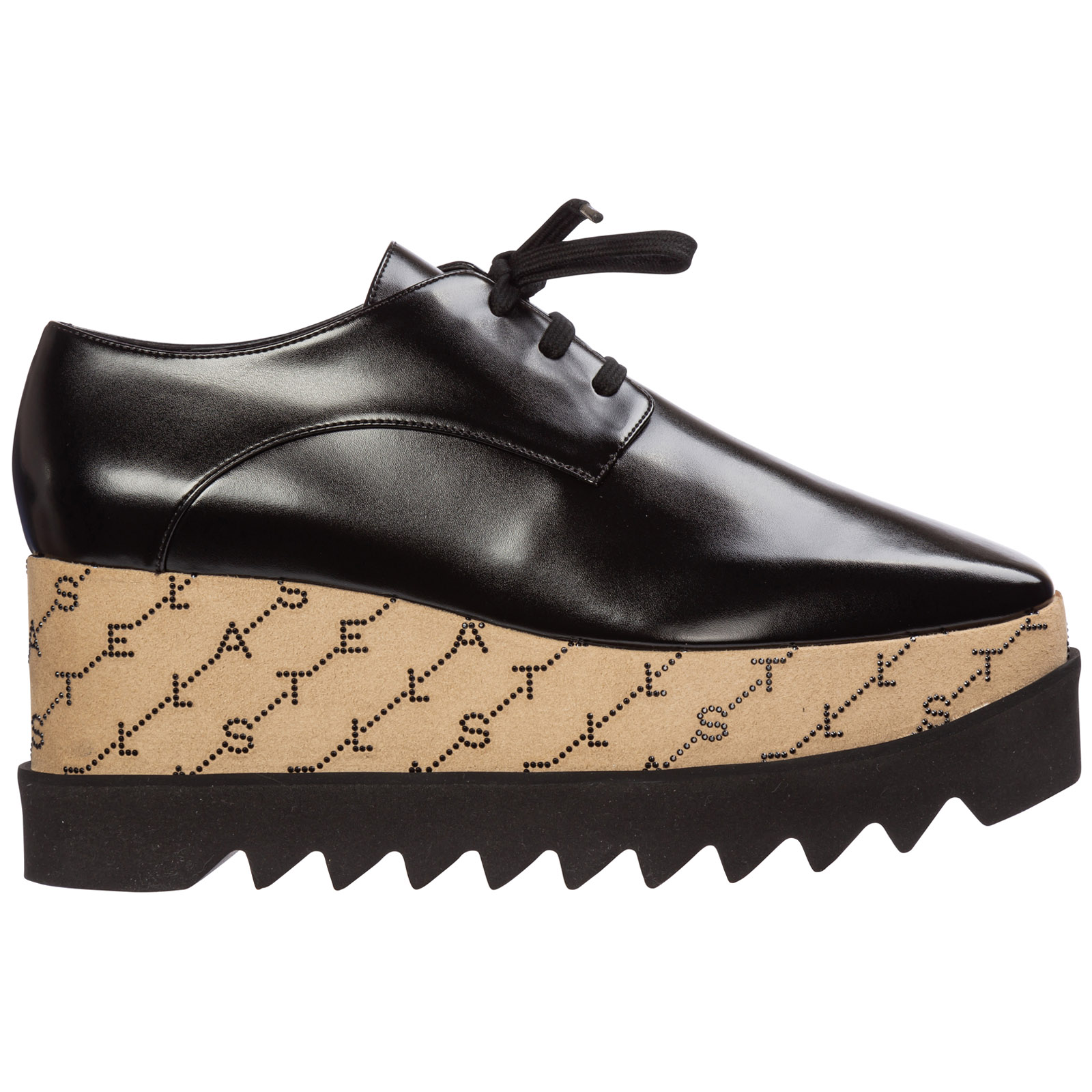 Stella Mccartney Shoes WOMEN'S CLASSIC LACE UP LACED FORMAL SHOES DERBY ELYSE