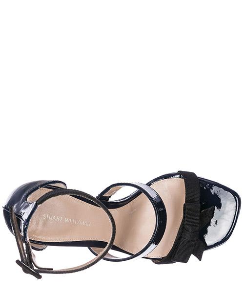Sandali donna con tacco pelle secondary image