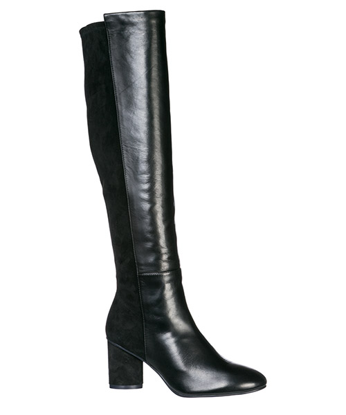 Women's leather heel boots eloise secondary image