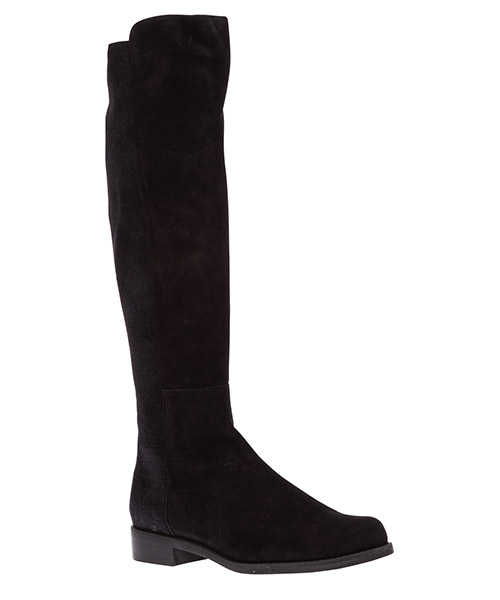Women's suede boots halfnhalf secondary image