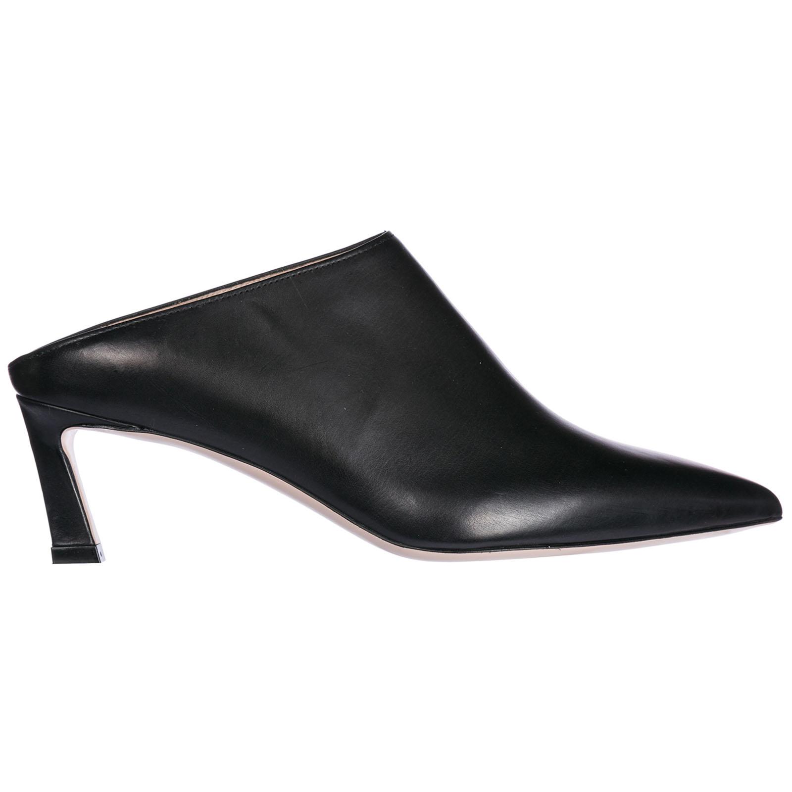 Decolletes decoltè scarpe donna con tacco pelle mira