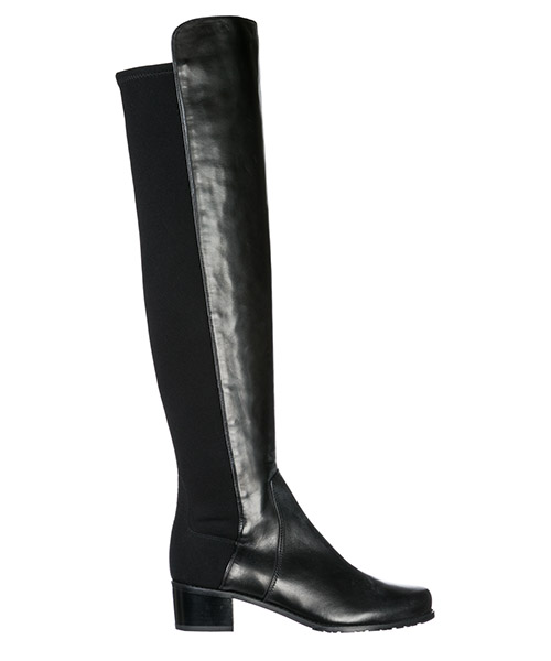 Bottines Stuart Weitzman RESERVE BLACK nero