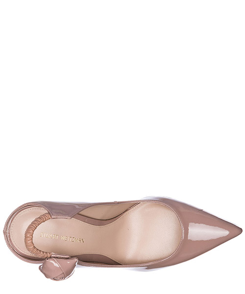 Zapatos de salón escotes mujer en piel secondary image
