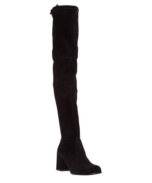 Stivali donna con tacco in camoscio tieland secondary image