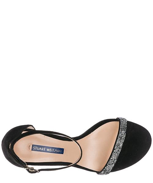 Women's suede heel sandals nunakedstraight secondary image