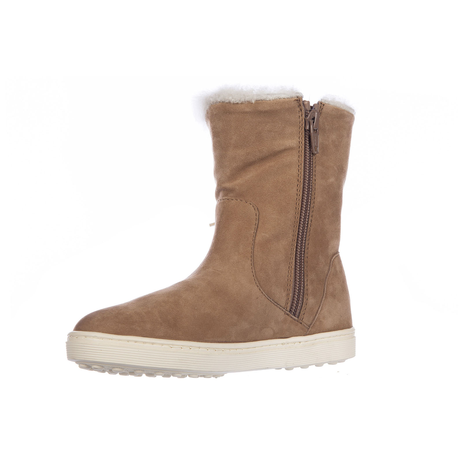 Girls shoes child boots suede leather sport cassetta