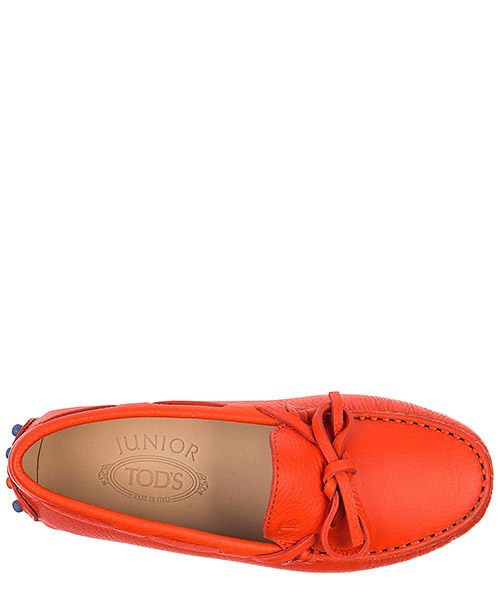 Mocassins garçon enfant en cuir s laccetto gommini secondary image