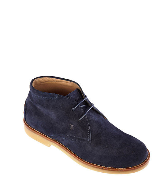 Boys suede leather child desert boots ankle boots secondary image