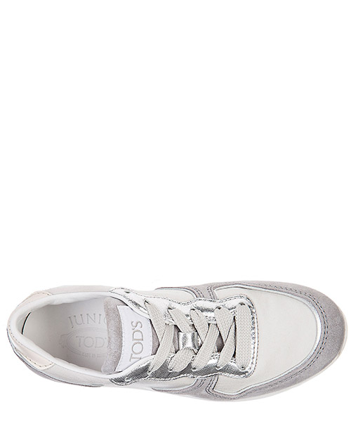 Boys shoes child sneakers suede leather running secondary image