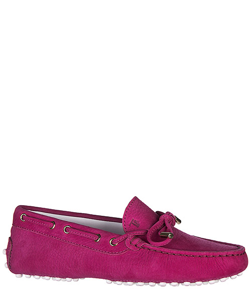 Mocassins filles enfant en cuir laccetto occhielli junior secondary image