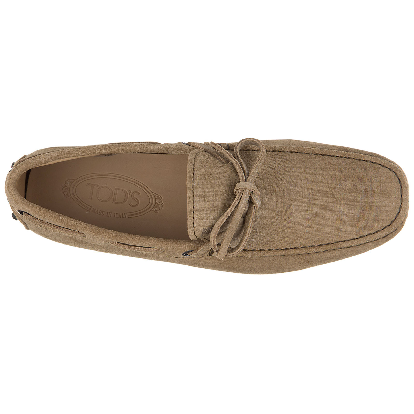 Herren leder mokassins slipper  laccetto gommino 122