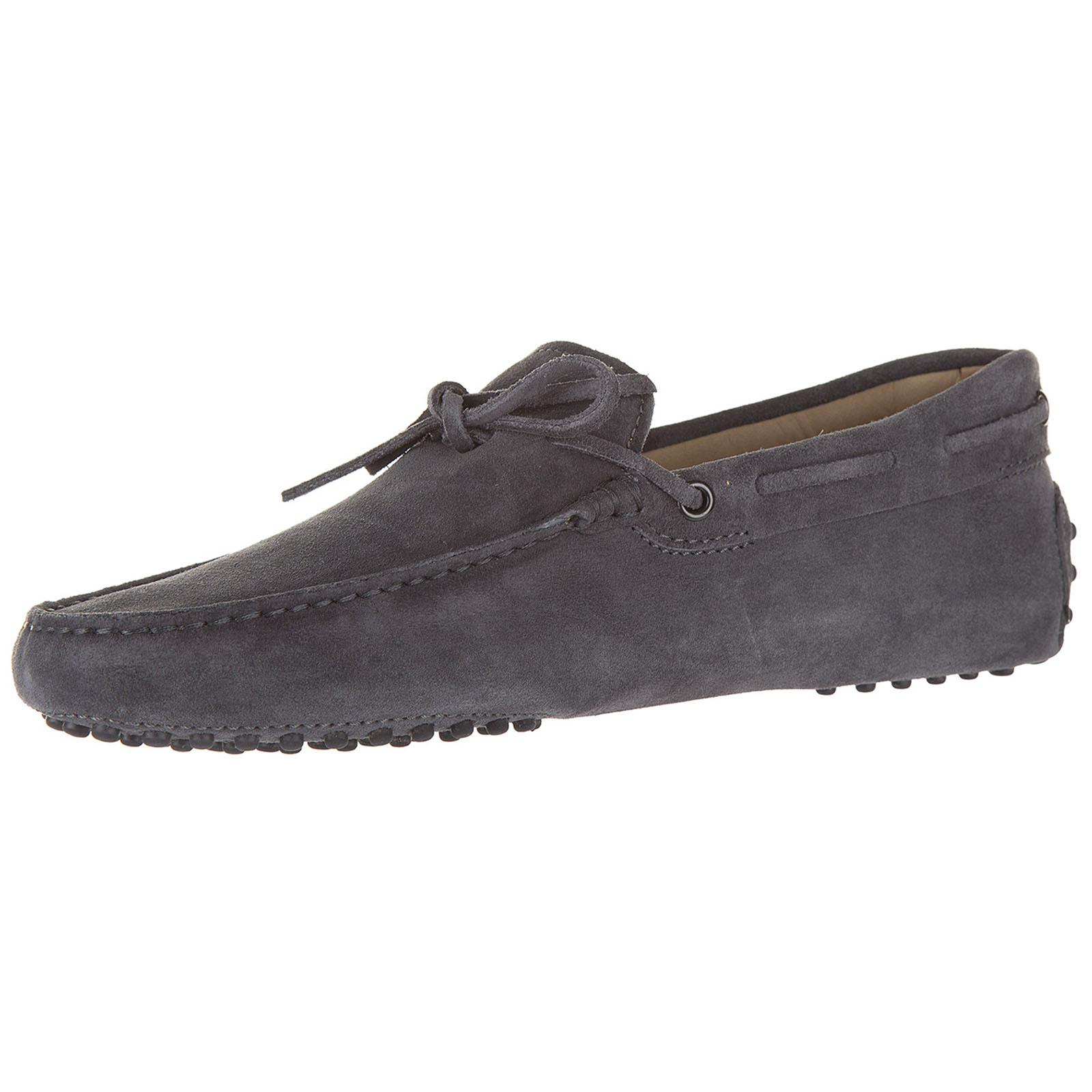 Men's suede loafers moccasins laccetto new gommini 122