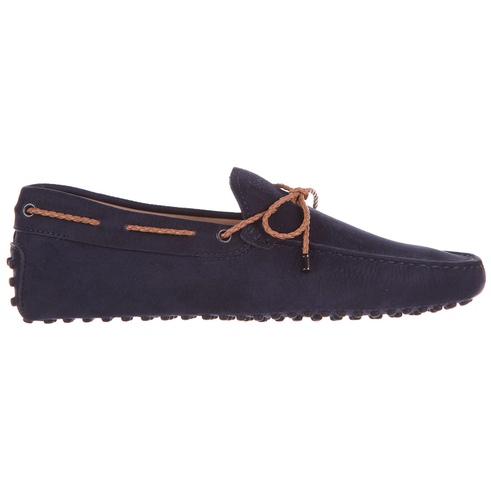 Herren leder mokassins slipper  laccetto gommini 122