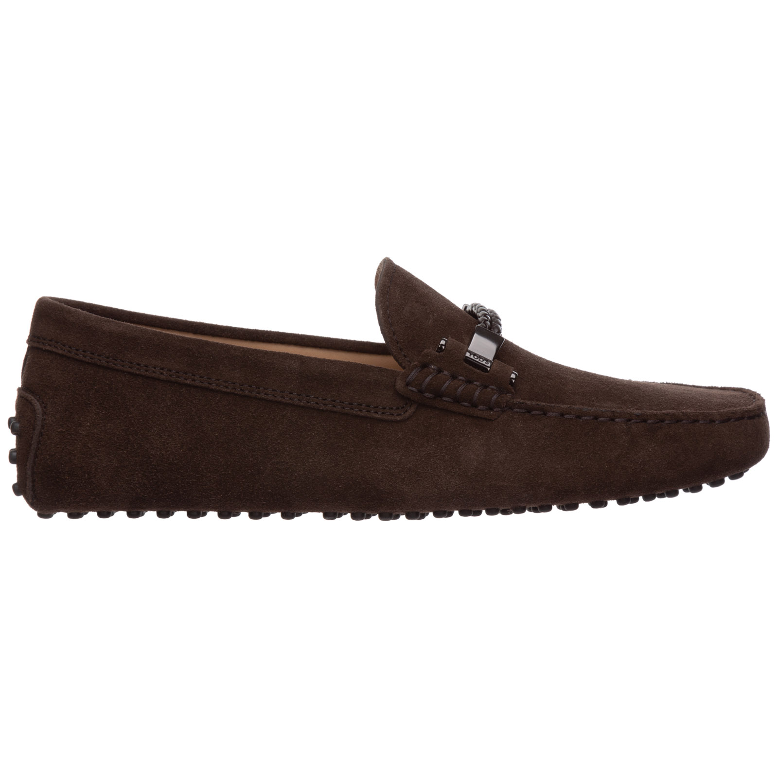 Wildleder mokassins herren slipper gommino