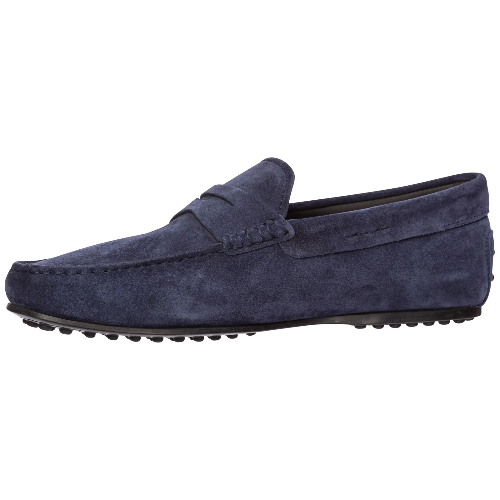 Men's suede loafers moccasins city