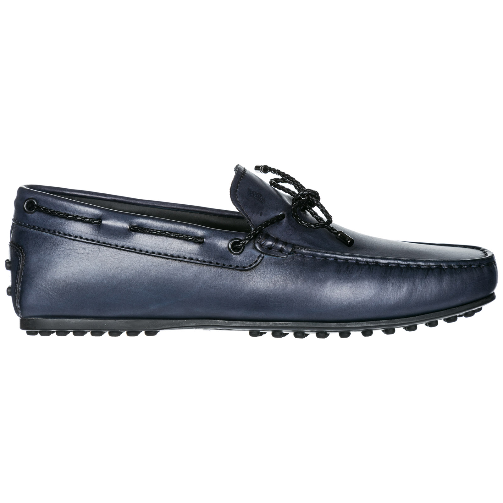 0009e2f28c9 Tod s Men s leather loafers moccasins laccetto scooby doo city gommino