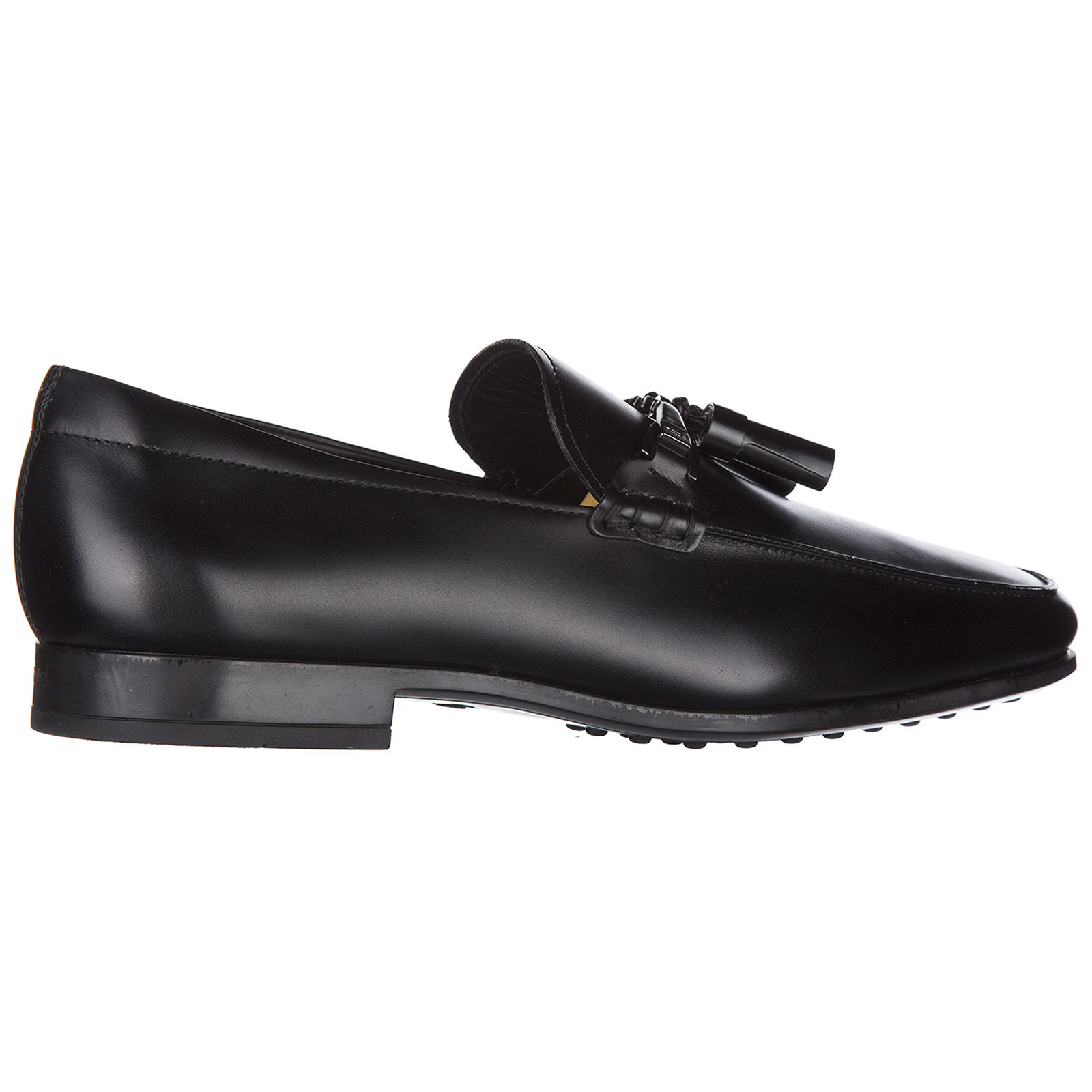 Men's leather loafers moccasins  doppia t nappine