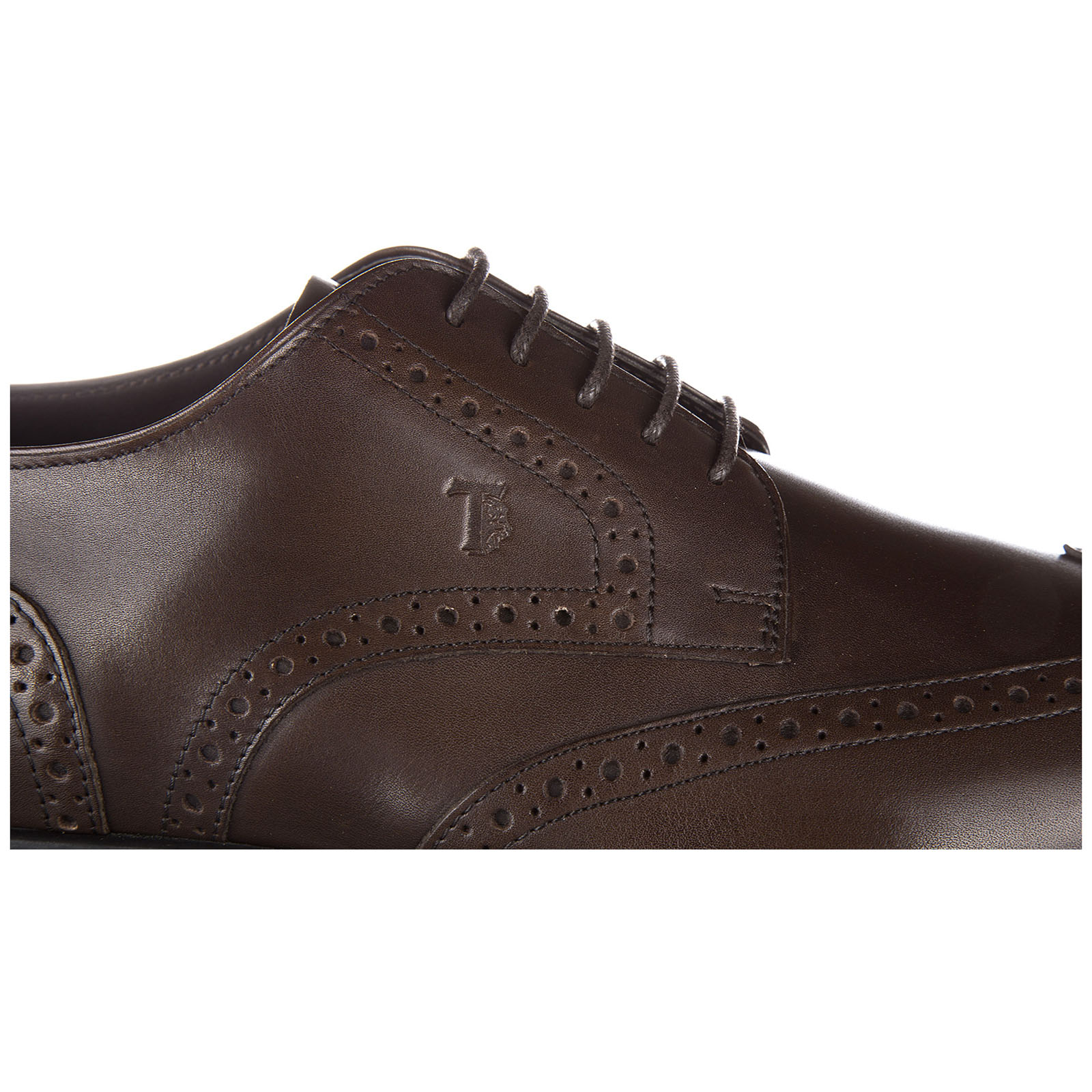 Chaussures à lacets classiques homme en cuir derby bucature
