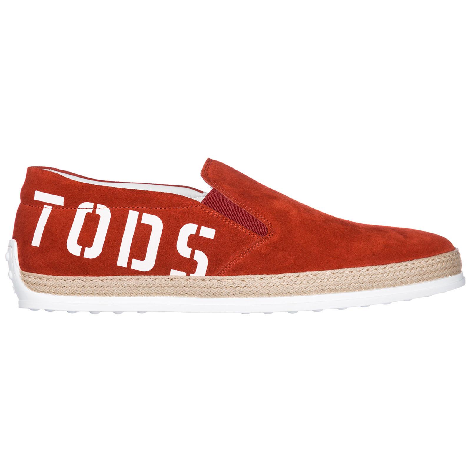 Slip on uomo in camoscio sneakers