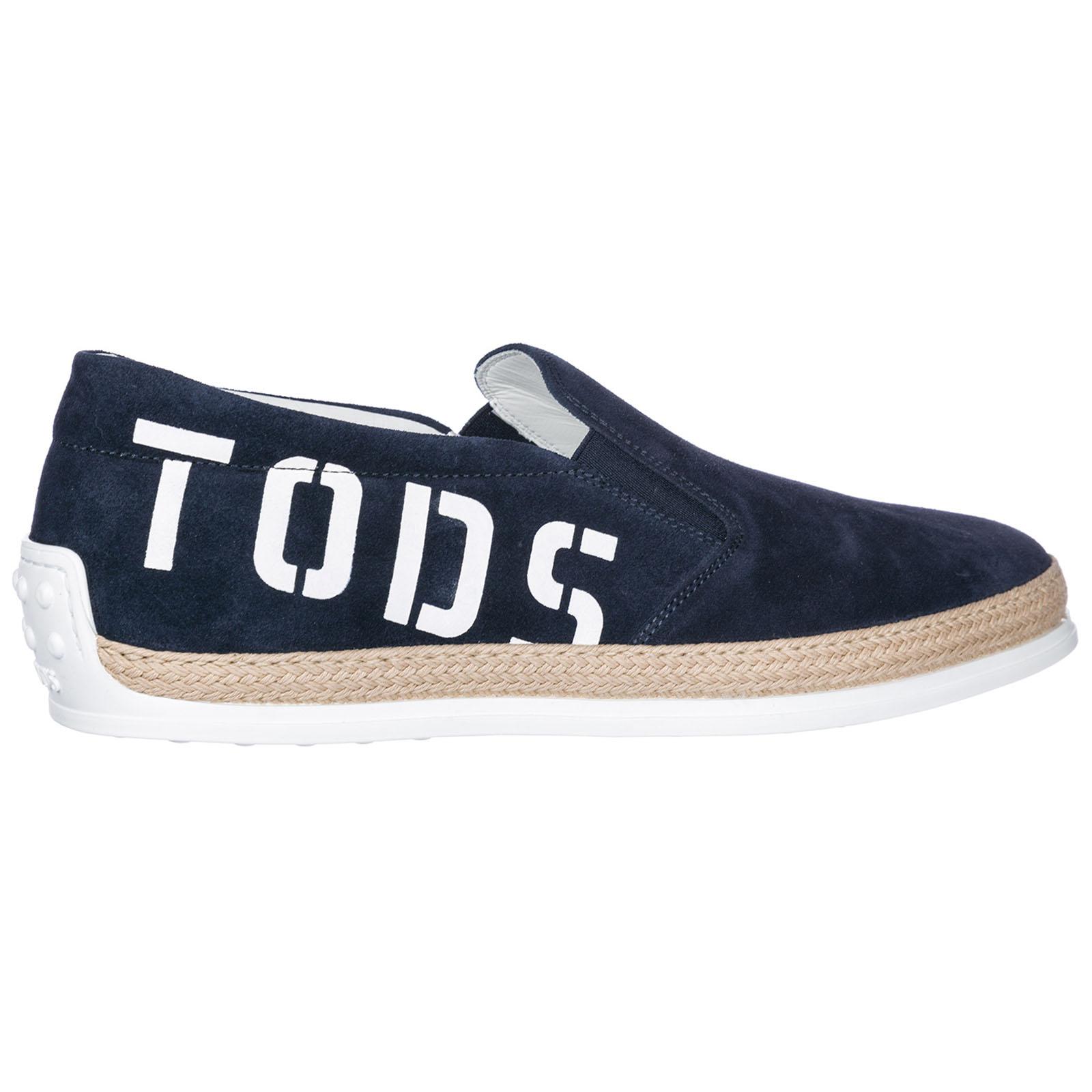 Herren wildleder slip on slipper sneakers
