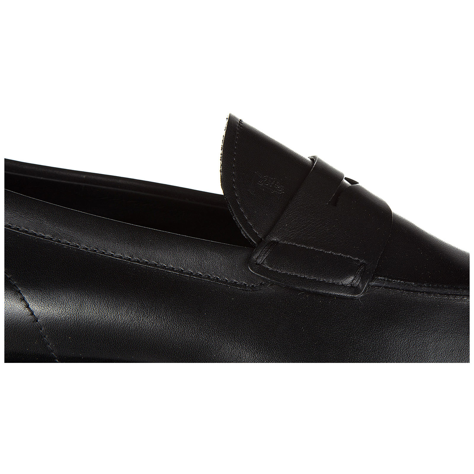 Men's leather loafers moccasins  gomma classico