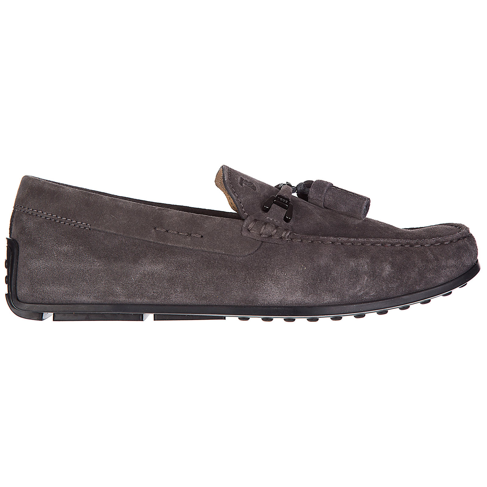 Men's suede loafers moccasins double t nappine