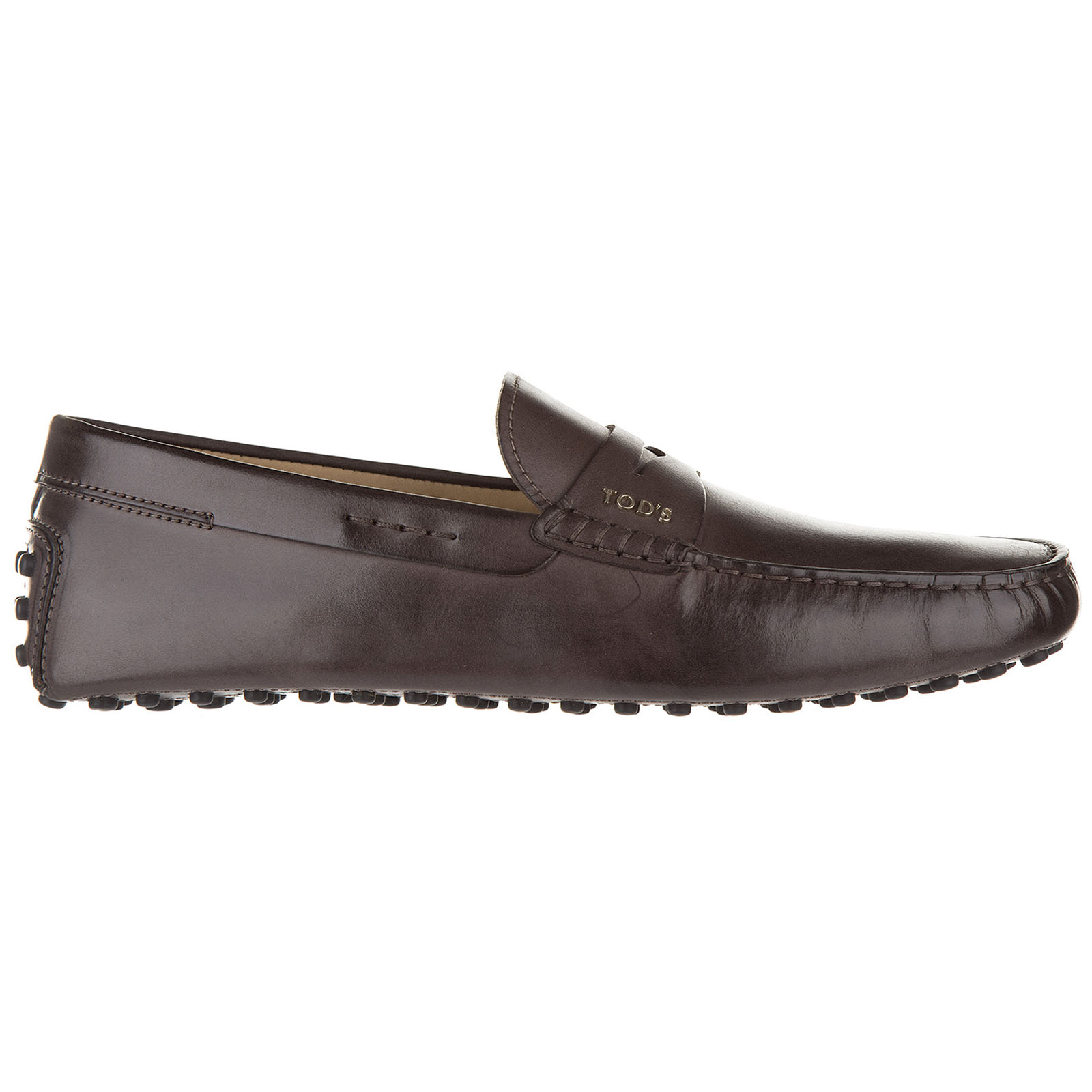 Men's leather loafers moccasins  letterine gommini wg