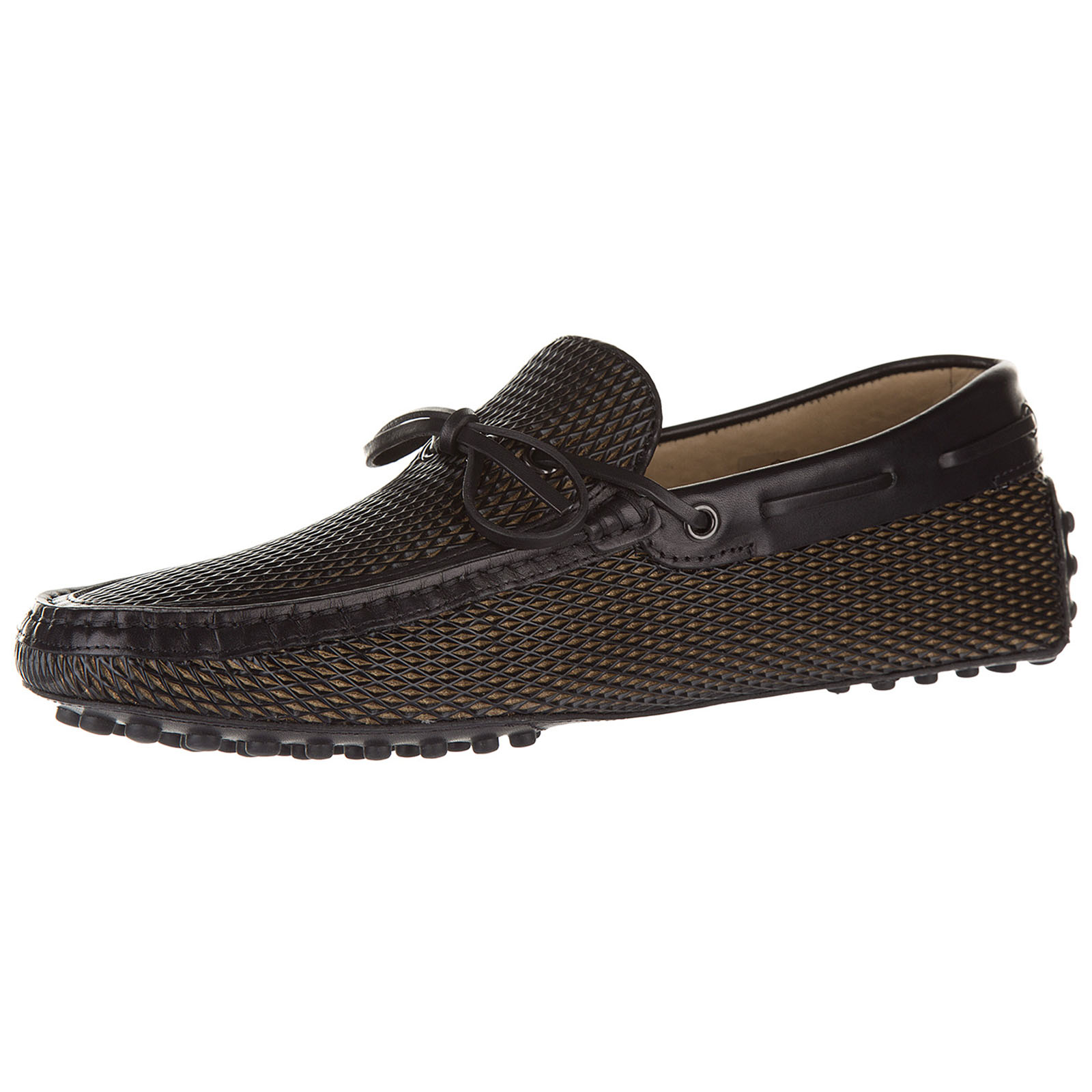 Herren leder mokassins slipper  gommini
