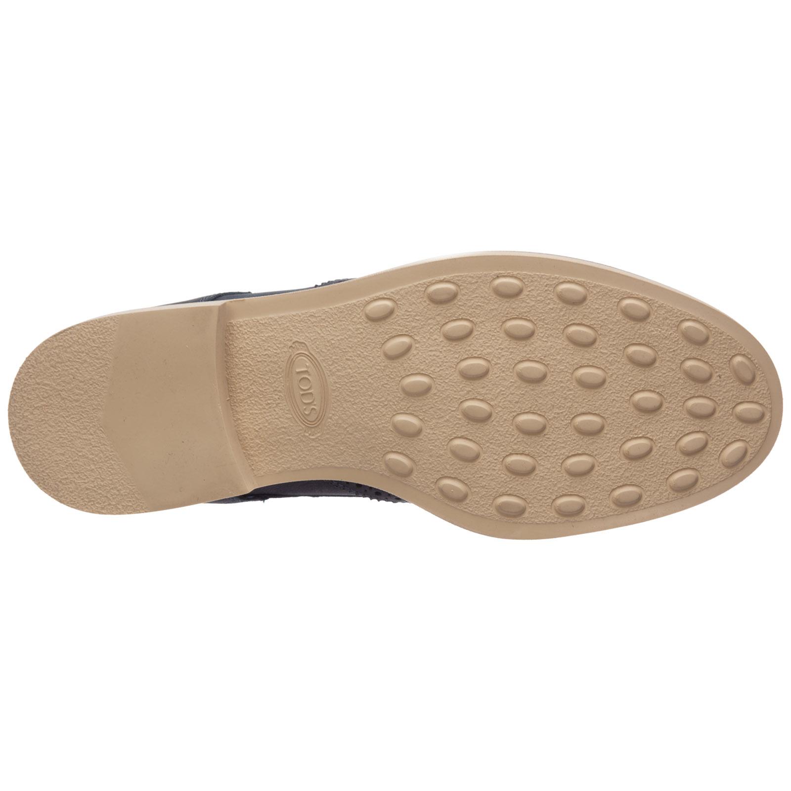 Clásico zapatos de cordones hombres en piel derby
