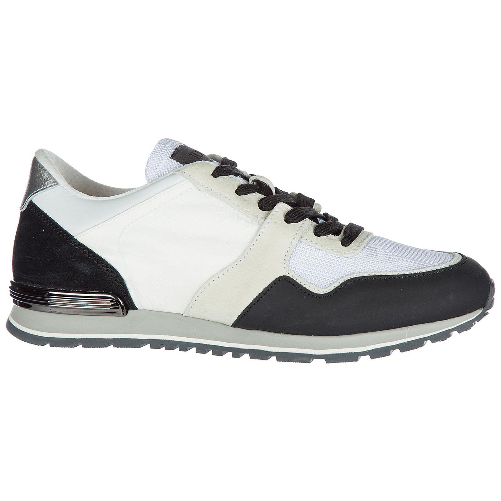 Scarpe sneakers uomo camoscio