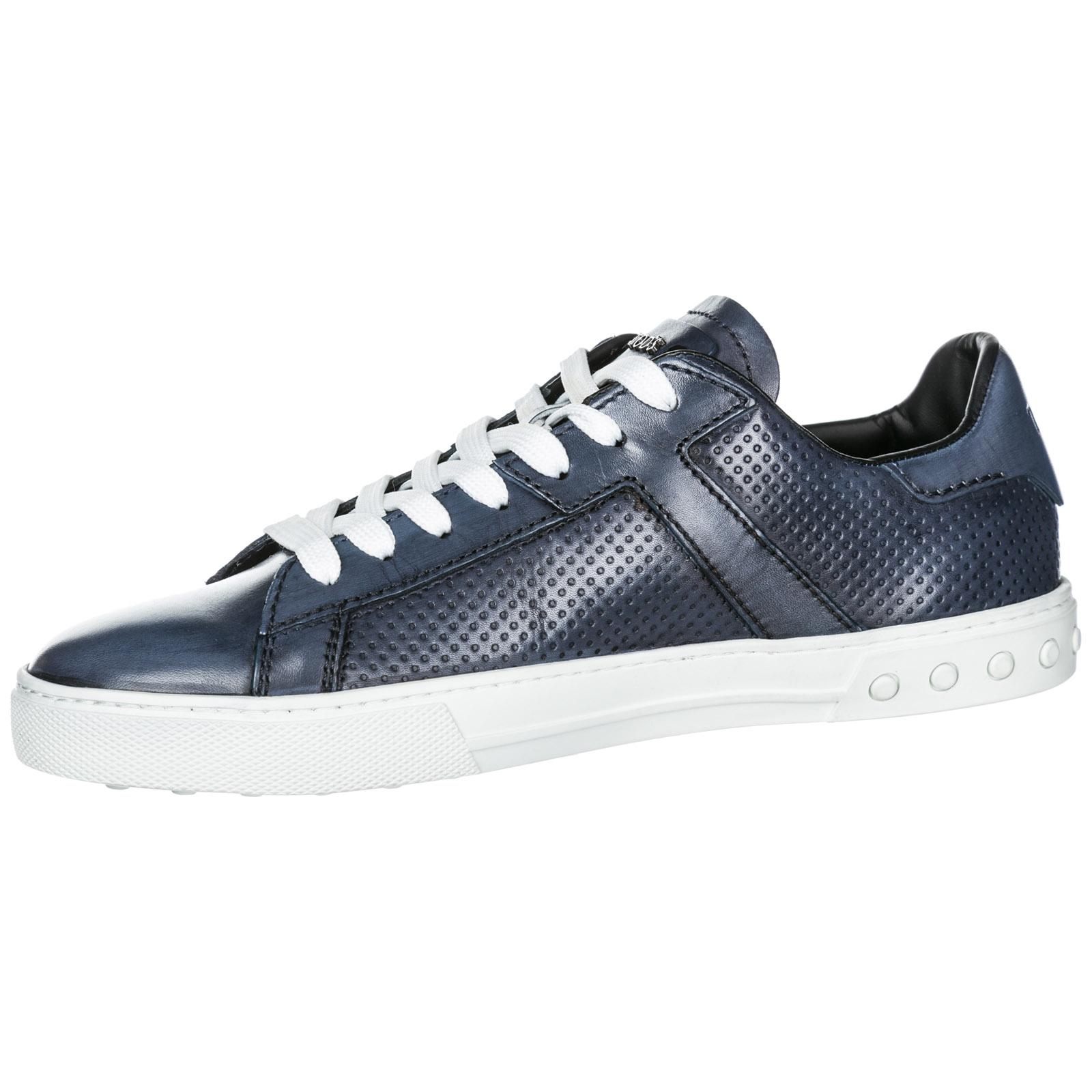 Chaussures baskets sneakers homme en cuir