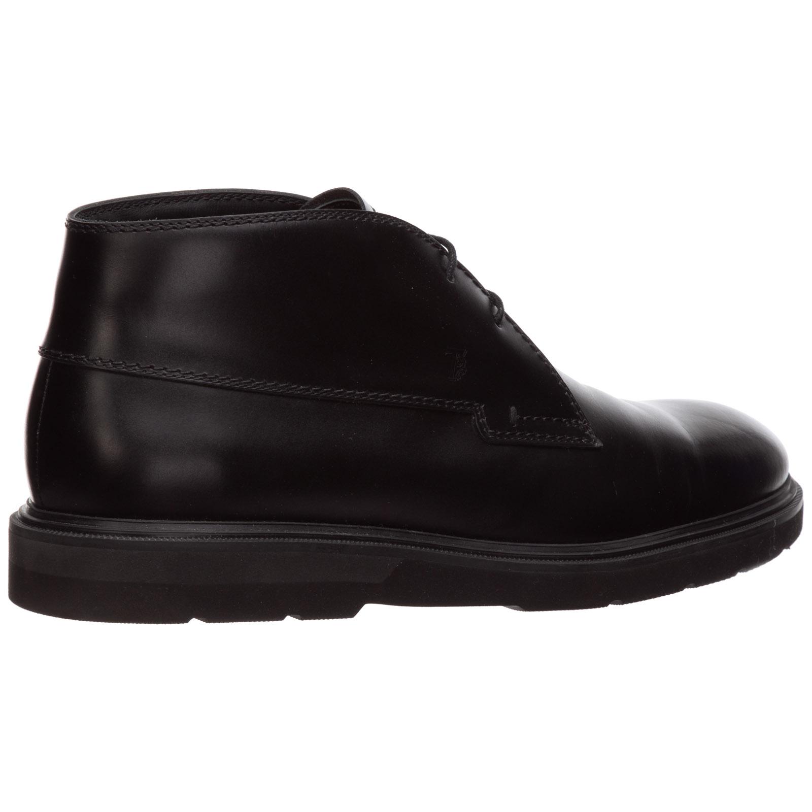 Botines zapatos por hombre en piel