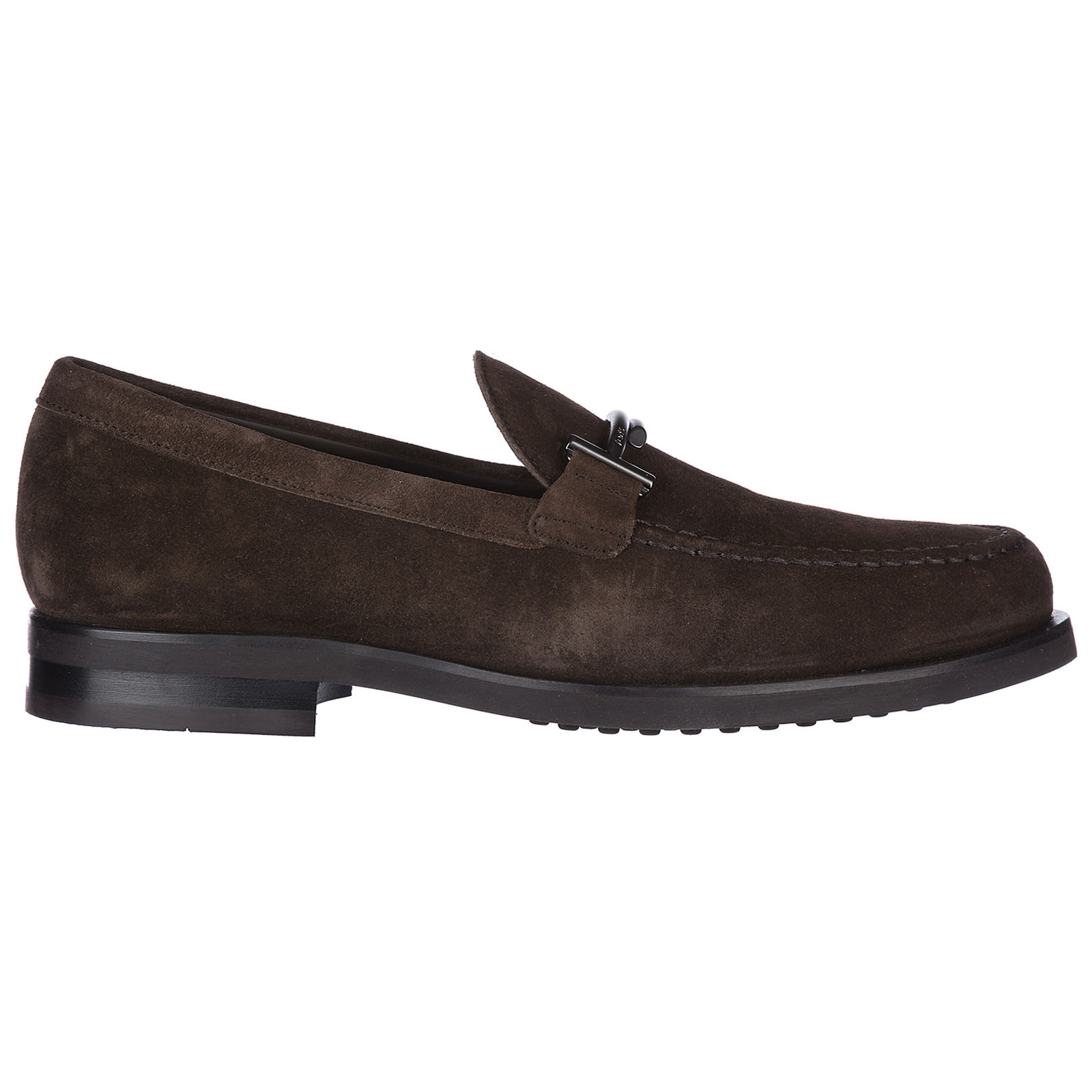 Wildleder mokassins herren slipper double t