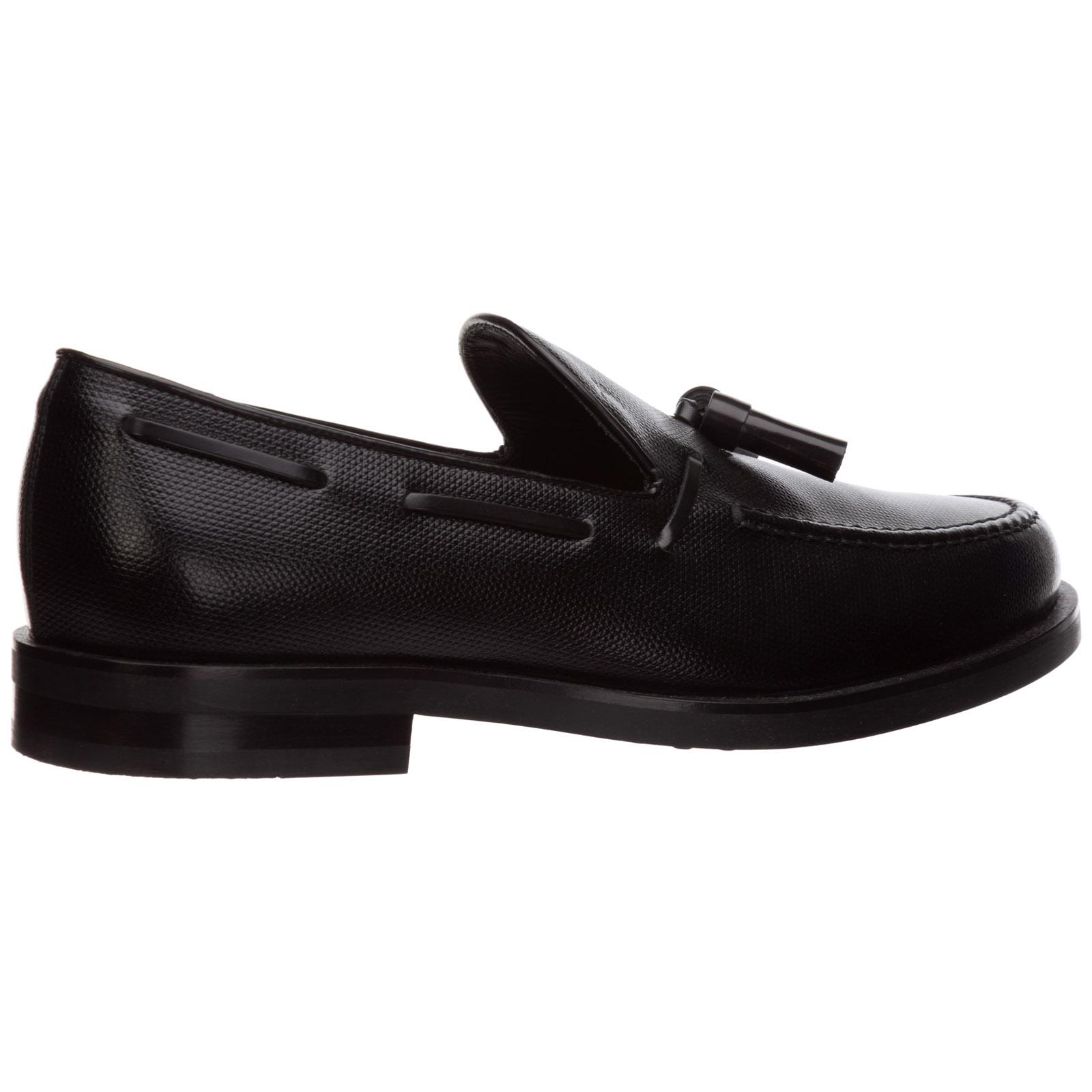Herren leder mokassins slipper  pantofola nappina formale