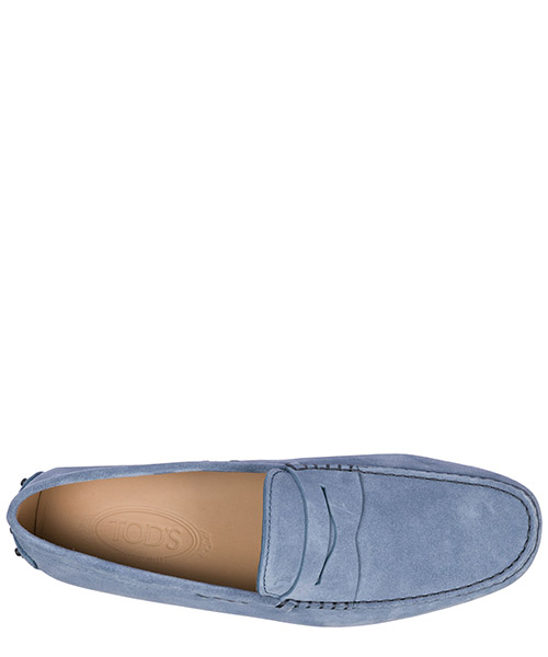 Men's suede loafers moccasins gommini secondary image