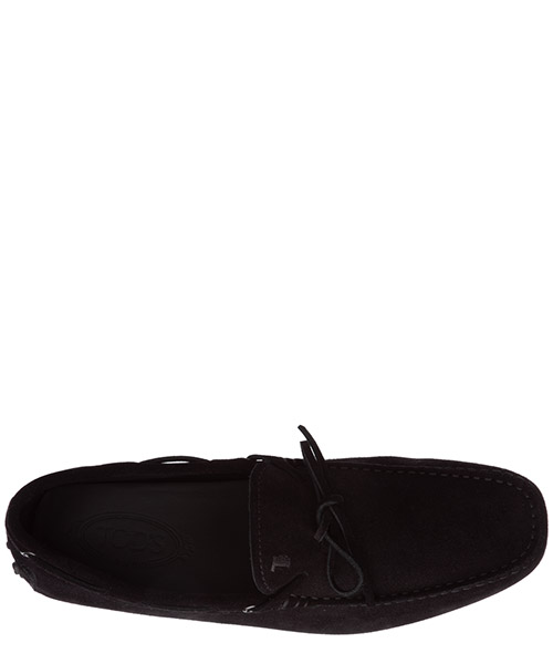 Men's suede loafers moccasins laccetto gommini 122 secondary image